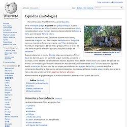Equidna (mitología)