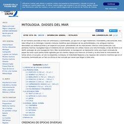 MITOLOGIA. DIOSES DEL MAR - Wiki Nautico Lamarencalma