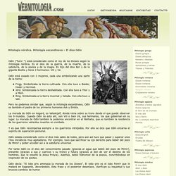 El dios Odín. Mitología nórdica. Mitología escandinava