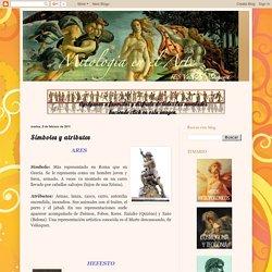 Mitología en el arte: Símbolos y atributos