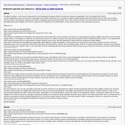 MİTOLOJİK ve DİNİ FİLMLER [Arşiv] - Turan Dursun Sitesi Forumları