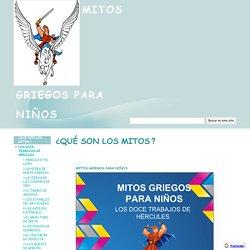 Mitos griegos para niños- Página web