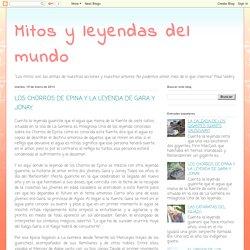 Mitos y leyendas del mundo: LOS CHORROS DE EPINA Y LA LEYENDA DE GARA Y JONAY.