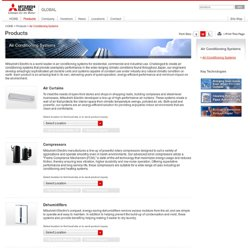 MITSUBISHI ELECTRIC Products - Air Conditioning Systems