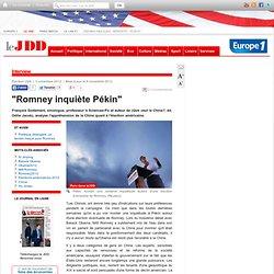 Mitt Romney vu par la Chine