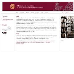 Mittelalterliche Geschichte - Eine digitale Einführung in das Studium