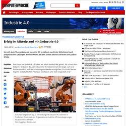 Prozessdigitalisierung: Erfolg im Mittelstand mit Industrie 4.0