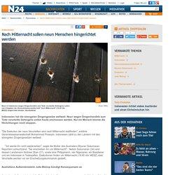 Indonesien: Nach Mitternacht sollen neun Menschen hingerichtet werden