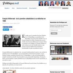 François Mitterrand : de la première cohabitation à sa réélection en 1988