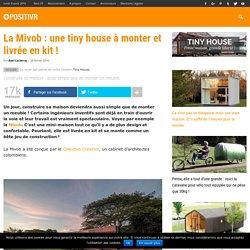La Mivob : une tiny house à monter et livrée en kit !