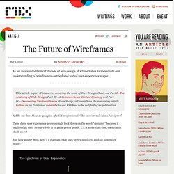 The Future of Wireframes - Articles - MIX Online