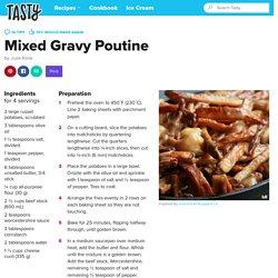 Mixed Gravy Poutine Recipe by Tasty