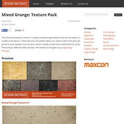 Mixed Grunge: Texture Pack