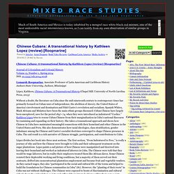 Mixed Race Studies