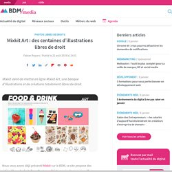 Mixkit Art : des centaines d'illustrations libres de droit