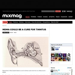 MDMA COULD BE A CURE FOR TINNITUS
