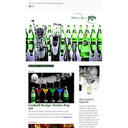 Mixology by Perrier Newsletter n° 8
