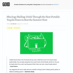 Mixology Mailbag: Drink Through the Heat Portable Tequila Fizzes to Beat the Summer Heat | Food on GOOD