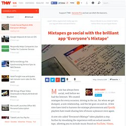 Create Social Playlists With Everyone's Mixtape