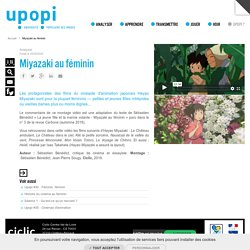 Miyazaki au féminin