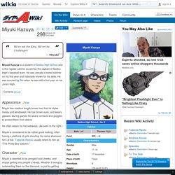 Miyuki Kazuya - Diamond no Ace Wiki - Wikia