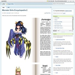 mjm202036 / Monster Girls Encyclopedia 2