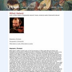 Mjuzik.eu - Miloš Valent