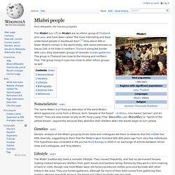Mlabri people