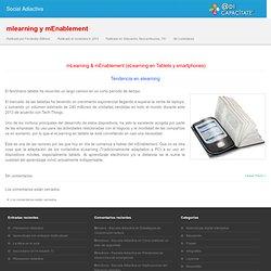mlearning (eLearning en Tablets y smartphones)
