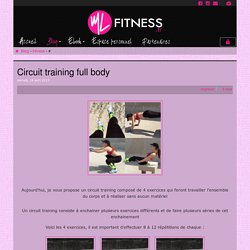 MLfitness - Circuit training full body