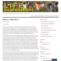 MLK vs. Malcolm X - Melissa Boelstler