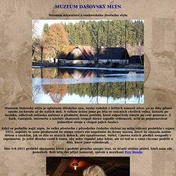 Dašovský mlýn (Štěměchy) + rozhledna Mařenka