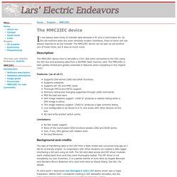 The MMC2IEC device - Lars' Electric Endeavors