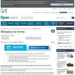 MMM_1 - OpenLearn - Open University - MMM_1