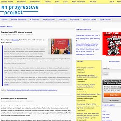 MN Progressive Project -- Community Blogging, Political Activism, and Truth in New Media