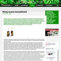 Mniej znany kannabinoid