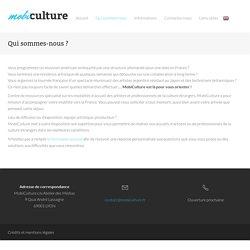 MobiCulture - Qui sommes-nous ?