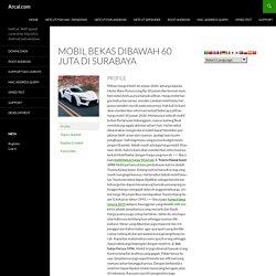 mobil bekas dibawah 60 juta di surabaya's Profile