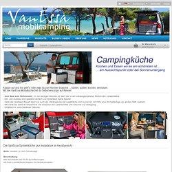 VanEssa mobilcamping Online-Shop - VanEssa Campingausbau - Küchenmodule für deinen VW T5, Caddy, u.v.a. Vans
