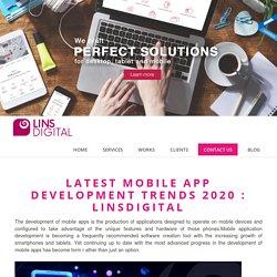 Mobile app development 2020