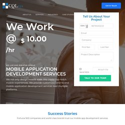 Mobile Application Developer USA