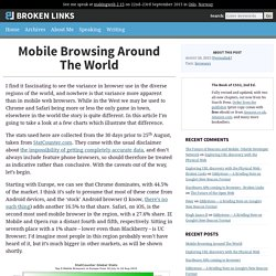 Mobile Browsing Around The World