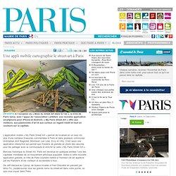 Une appli mobile cartographie le street-art à Paris