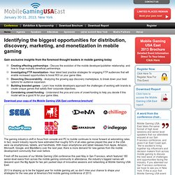 Mobile Gaming & Tablet Conference/Exhibition