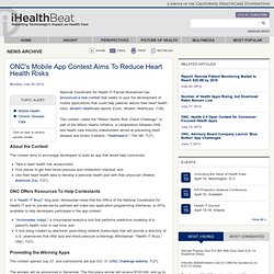 ONC's Mobile App Contest Aims To Reduce Heart Health Risks