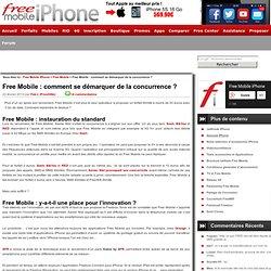 Free Mobile : comment se démarquer de la concurrence ?