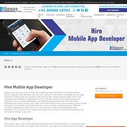 Hire Mobile App Developer - Dedicated App Developer For Hire