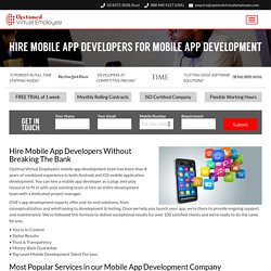 Why You Should Hire A Mobile App Developer for Your Business