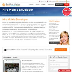 Hire Mobile App Developers & Programmers