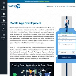 Mobile App Development Sydney, Android development - Elsner